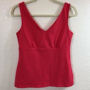 Boden V Neck Tank Top Large 14